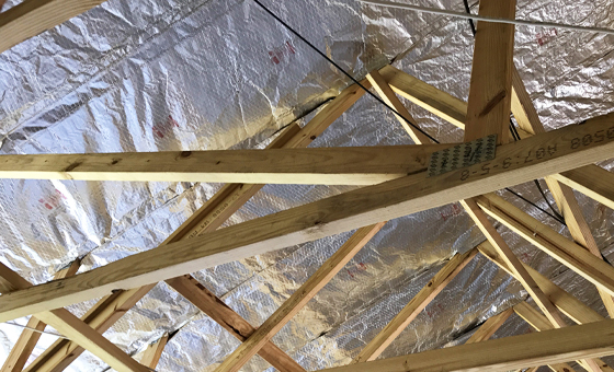 Attic Radiant Barriers -Silver Shield™ Attic Radiant Barrier