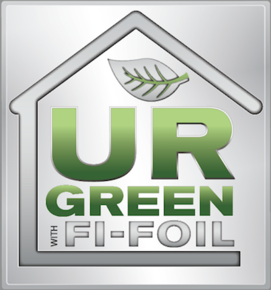 UR Green with Fi-Foil Logo